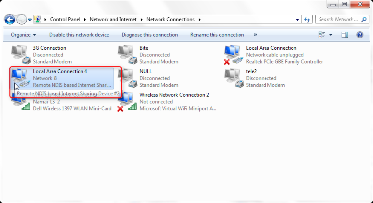HiLink modems driver instalation for Windows 7 guide