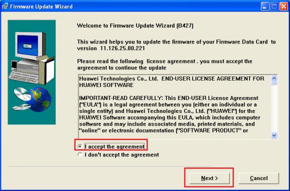 Huawei E177 firmware 11 126 29 00 221