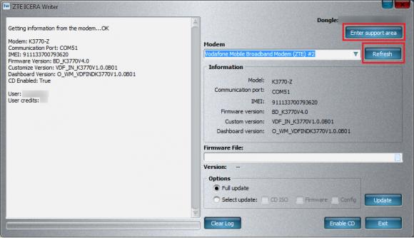Zte icera firmware writer dc-unlocker.