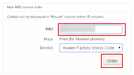 unlock code with imei free