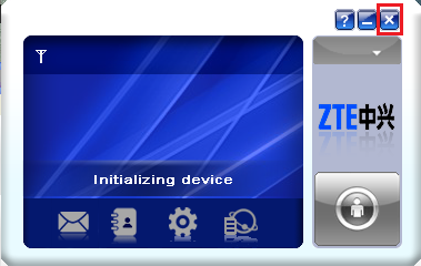 ZTE modem detect and unlock guide