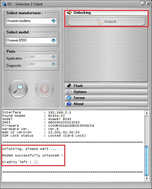 Huawei modem wa1003a Manual