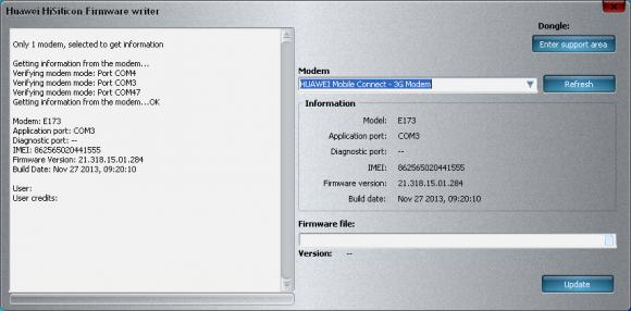 Huawei E303H unlock guide