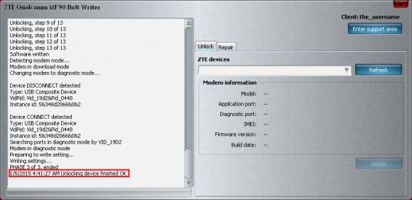 cara update driver bolt mf90