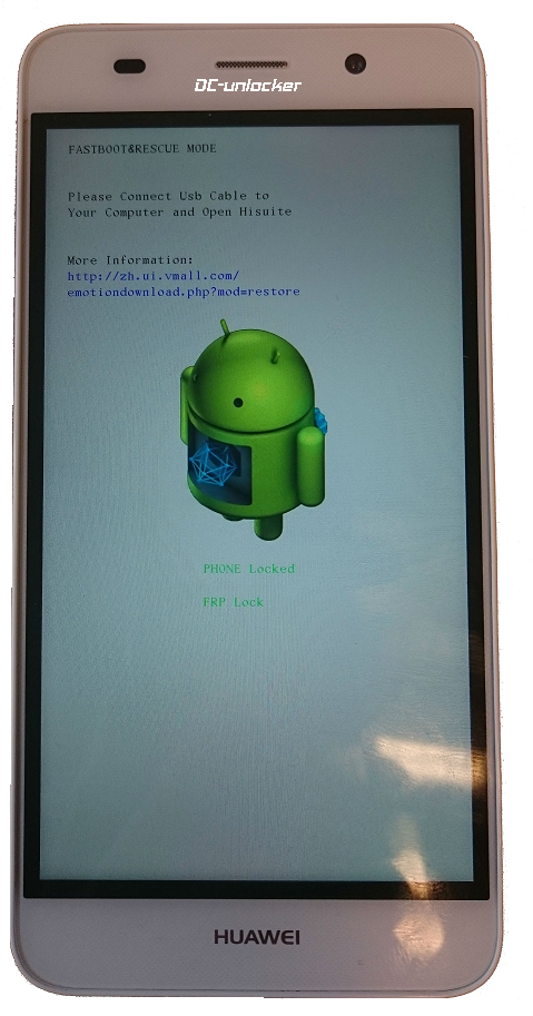 Huawei android phone FRP unlock